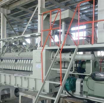 8ft Hydraulic Rotary Lathe
